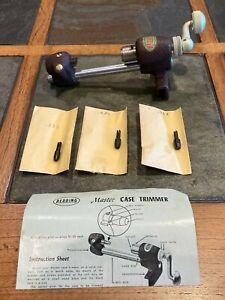 Vintage Redding Model #13 Master Case Trimmer With Original Box (Never Used)