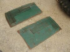 Oliver 77 Tractor Front Original Side Panel Engine Motor Curtain Panels Curtains