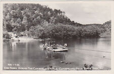 RPPC,Cumberland State Park,KY.,Car Ferry Crossing Cumberland River,Used,1946