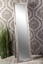 Standspiegel Spiegel antik silber MADISON 160 x 40 cm