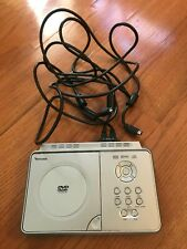 Venturer PVS1971 Portable DVD player with two monitors includes straps