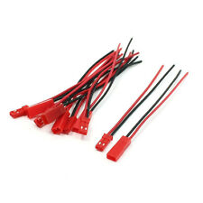 5 Pairs 22AWG Cable 2Pin JST M F Plug for RC Battery Motor Connection LW