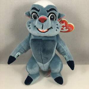 "Ty Beanie Baby 6"" BUNGA the Honey Badger (Disney The Lion Guard) Plush Toy MWMTs"