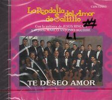 La Rondalla Del Amor De Saltillo Te Deseo Amor CD New  Nuevo Sealed