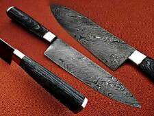 EST Custom Handmade Damascus Single Chef Kitchen Knife NEW 1050