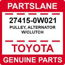 27415-0W021 Toyota OEM Genuine PULLEY, ALTERNATOR W/CLUTCH
