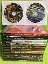 Lot of 12 ORIGINAL XBOX Games--SEE Desc. LIST and Pictures