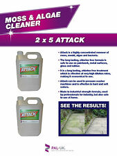5L DRIVEWAY CLEANER MOSS AND ALGAE REMOVER FROM CONCRETE, TILES, PATHWAYS