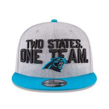 CAROLINA PANTHERS 2018 NFL NEW ERA ON STAGE DRAFT DAY 9FIFTY SNAPBACK HAT CAP