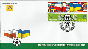 Albania 2012. The European Football Sport Championship Poland - Ukraine. FDC MNH