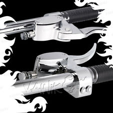 "VAWiK chrome custom hand control set brake & clutch master cylinder lever 1"" bar"