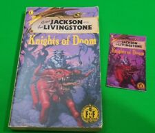 Knights of Doom ***2nd PRINTING!!*** Fighting Fantasy Steve Jackson Puffin #3