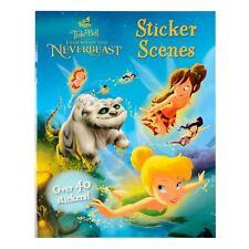 Disney Fairies Tinker Bell Legend Of The Neverbeast Sticker Scenes Story Book