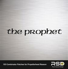 The Prophet Reason Propellerhead Refill Prophet 5 emulation 153 sounds patches