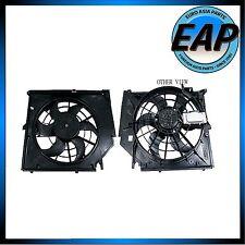 For BMW E46 323Ci 323i 325i 325xi 328Ci 328i 330xi Engine Cooling Fan Motor NEW