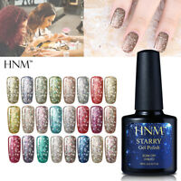 Nail Gel Polish Soak Off UV LED Manicure Salon 10ML Starry Glitter Shimmer HNM