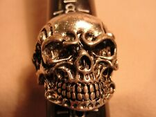 STAINLESS STEEL SKULL RING SIZE 9 A4161-62