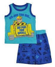Paw Patrol Toddler Boys Blue Tank Top Two-Piece Short Set Size 2T 3T 4T