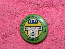 Vintage Collectible Pin Button Cleveland General Furniture Drivers 1961