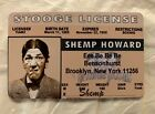 Shemp Howard The Three Stooges novelty Drivers License ID collectors card moe