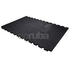 KwikMat EVA Gym Mats Flooring - 6ft x 4ft (1.8m x 1.2m) x 24mm Thick - Linkable