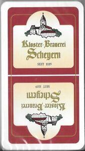 *** Brauerei Schafkopf Spielkarten Kloster Brauerei Scheyern ***