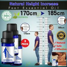 Effective Height Growth Increase Grow Taller Foot Oil Natural Plant Extract 30ml