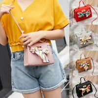 Women Shoulder Bag PU Leather Envelope Crossbody Messenger Handbag Small Purse