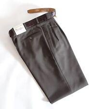 Linea Bernardo De Meyer Comodidad Pantalones Hombre con Cinturón Talla 48 U. A.
