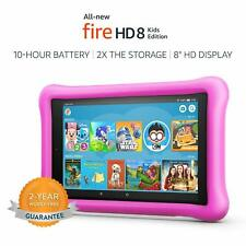 Kids Wi-Fi  Tablet Electronic Fun Learning Toddler  Ebooks Apps for Kids Pink