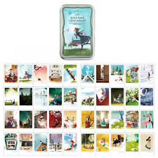 Anne & Little Women Instax Mini Illustrated Card 40 Sheets per Tin Case Message