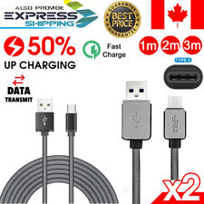 Fast Type C USB-C Data Charger Charging Cable lead For Samsung Galaxy S10 S9 S8