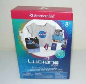 American Girl Doll Luciana's Visitor Center Accessories Space Flight NEW!!
