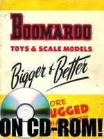 VINTAGE 1950S BOOMAROO AUSTRALIAN TIN TOY VEHICLE CATALOG ON CD-ROM! 1960S BONUS