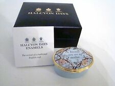 Halcyon Days Enamel Box - Because You Are My Mother I Will Always Have A Friend