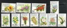 Trinidad & Tobago  1983 Flowers to $10 used