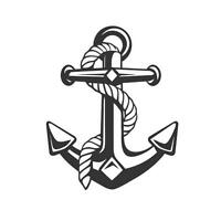 ANCHOR AND ROPE ,FISHING ,SAILING,  CAR DECAL STICKER