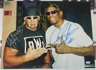 Dennis Rodman Hulk Hogan Signed WWE 16x20 Photo PSA/DNA COA Picture Auto WCW NWO