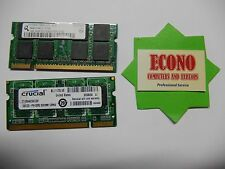 2GB (2X1GB) DDR2 Laptop Memory RAM