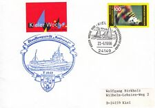 Schiffspost Ölauffangschiff Bottsand Y1643 Stützpunkt Olpenitz Kieler Woche 1996