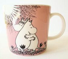 MOOMIN Mug Hugging Hippos Characters Moomintroll Pink Love Arabia Finland