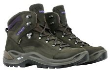 Lowa Womens Renegade GTX Mid Boots 320945 7937 Slate Black Berry Size 7.5