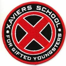 Ecusson Xaviers School X-men version rouge Xmen xaviers school red logo patch