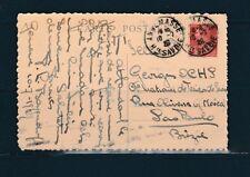 frb/ carte 90c Berthelot seul en 1929  74 Aix les Bains hotel Beau Site