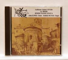 JOHN ELWES, FREDERIC MUNOZ - NIVERS La messe hymne Pange Lingua XCP CD NM