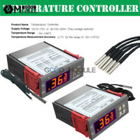 DST1000 STC1000 DC12-72V AC110-220V Temperature Controller Thermostat with Probe