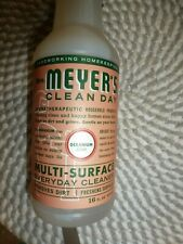MRS. MEYER'S~~CLEAN DAY~~GERANIUM SCENT~~MULTI-SURFACE EVERYDAY CLEANER 16 OZ