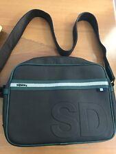 6c3e426f11 SUPERDRY charcoal green Laptop School Messenger Bag