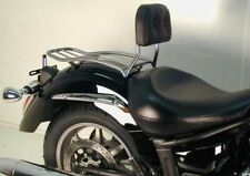 Yamaha XVS 1300 Midnight Star Solorack with Backrest Chrome BY HEPCO AND BECKER