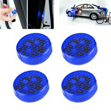 4x Car 5LED Door Open Warning Lamp Strobe Flash Anti-collision safety Blue Light